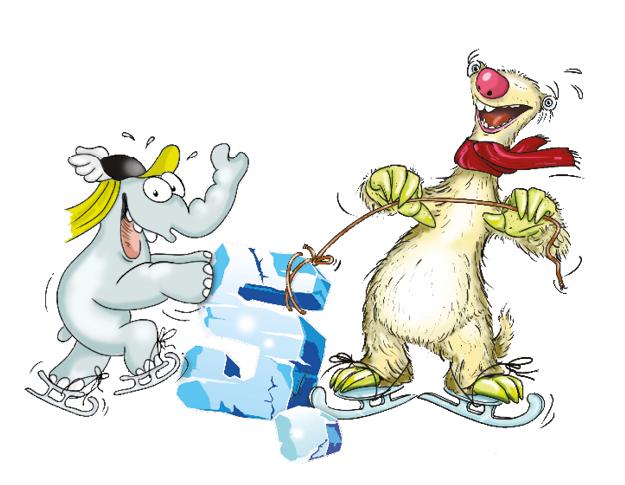 Sid aus Ice Age und Ottifant